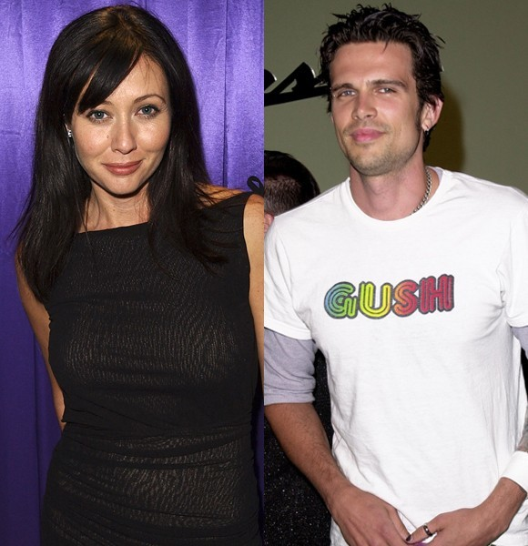 Shannen Doherty and Ashley Hamilton: married for five months