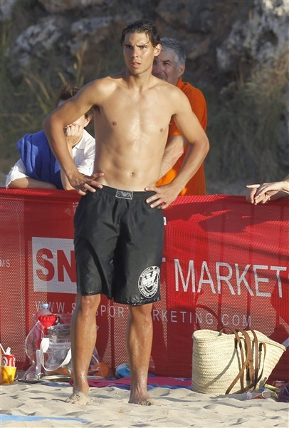 Rafael Nadal abs