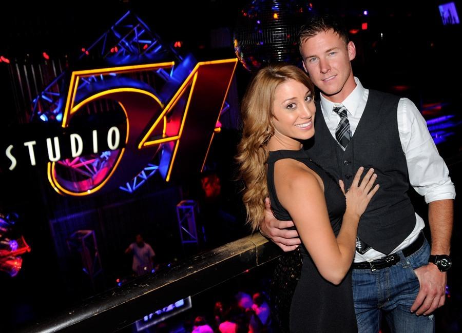 Vienna Girardi and Kasey Kahl at Studio 54, Las Vegas, 08.20.11
