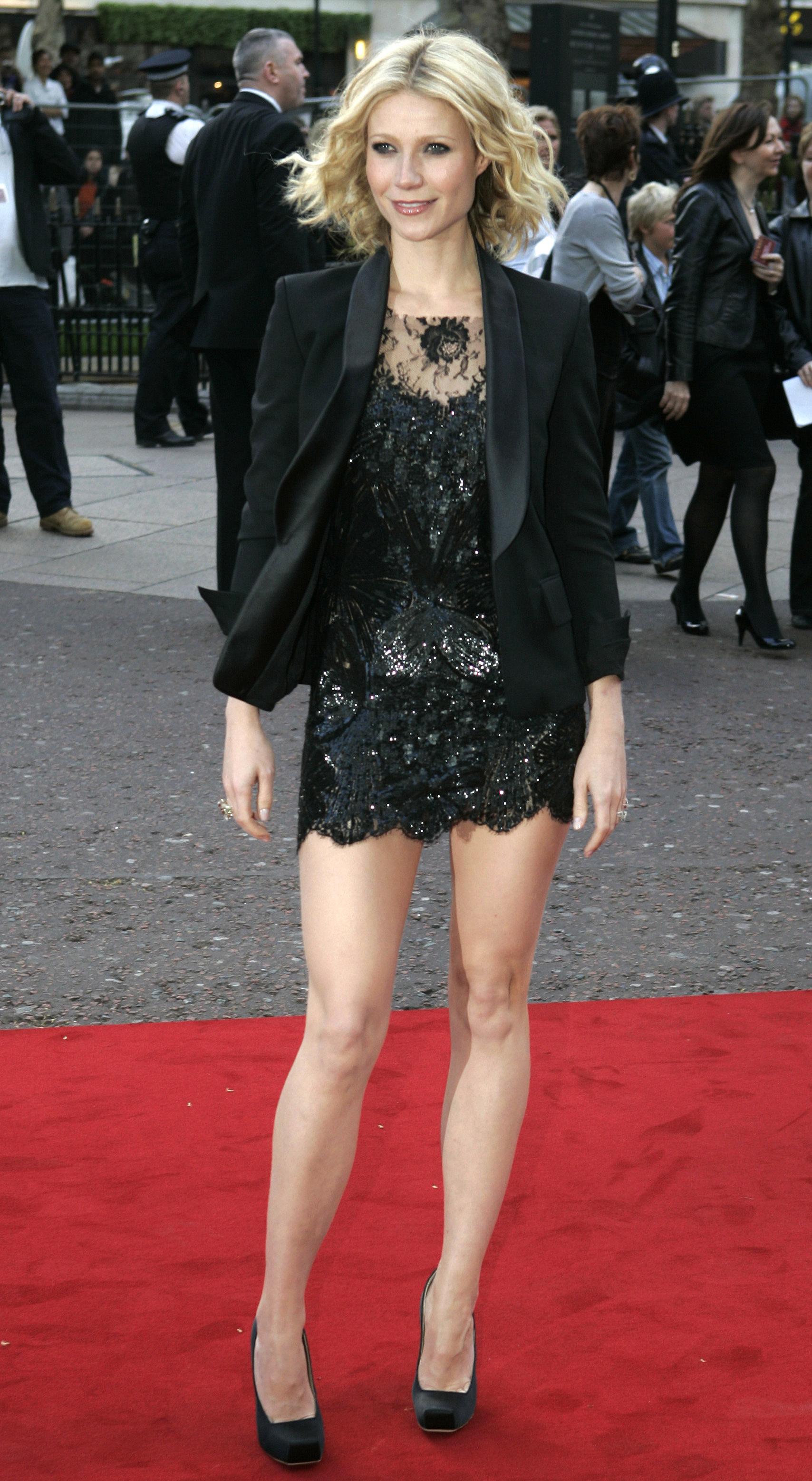 Gwyneth Paltrow Iron Man British premiere