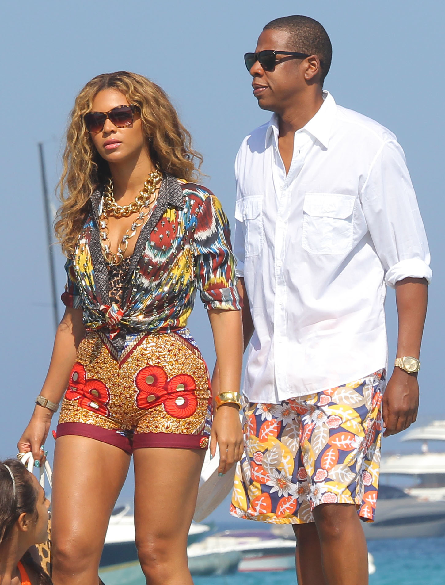 Beyonce and Jay Z in St Tropez