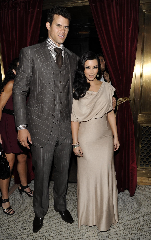 Kim Kardashian partying