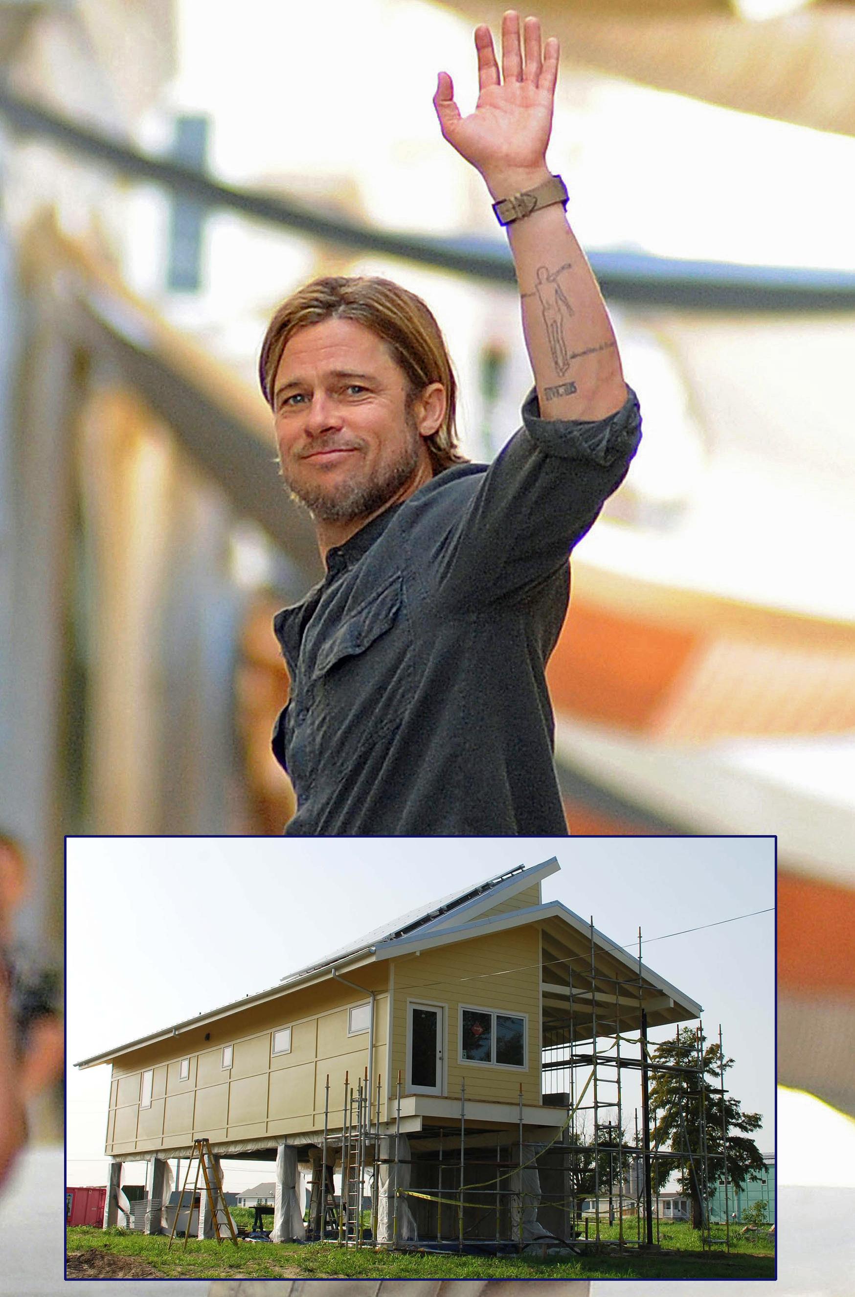 Brad Pitt Hurricane Katrina