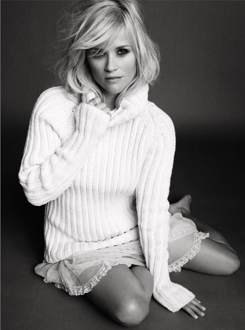 Reese Witherspoon in Marie Claire