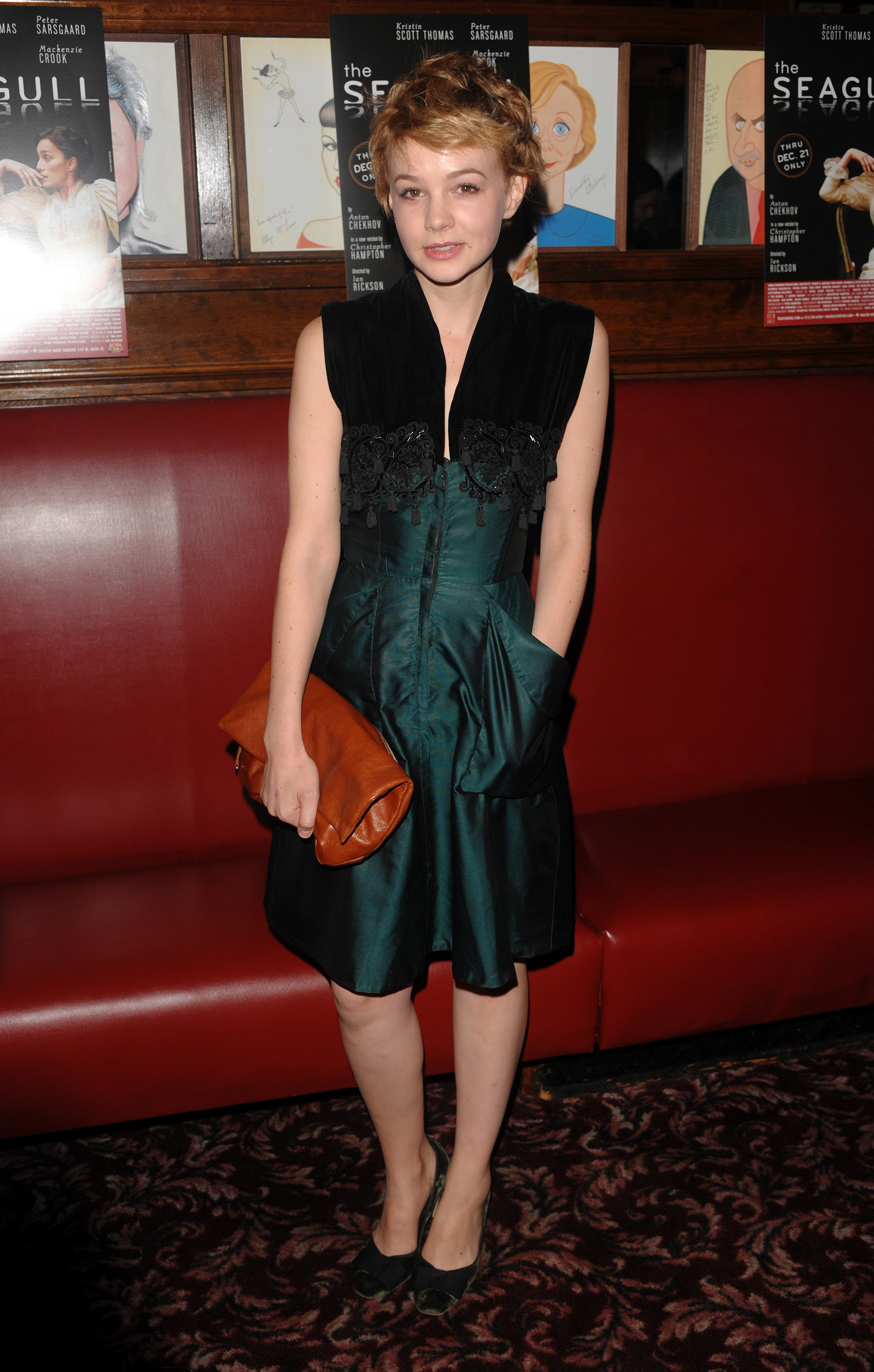 carey mulligan seagull opening night dress