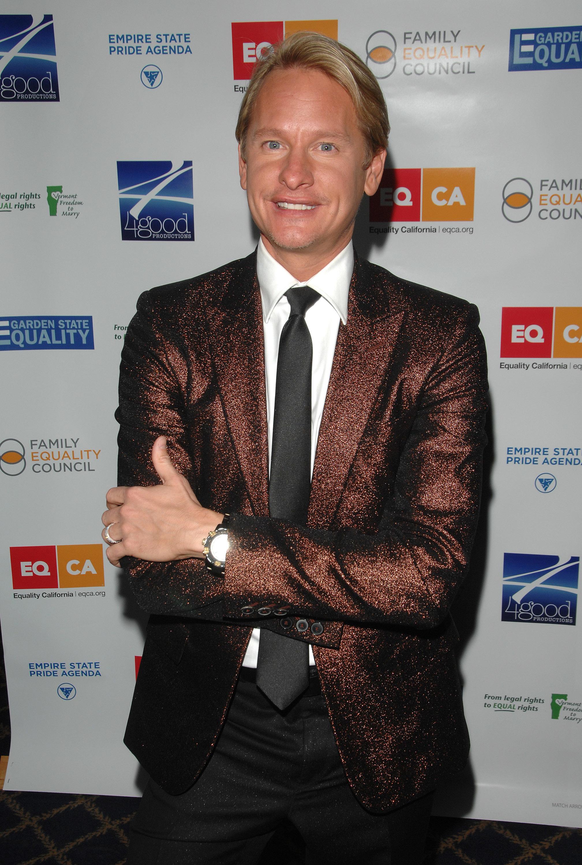 carson kressley sparkly blazer