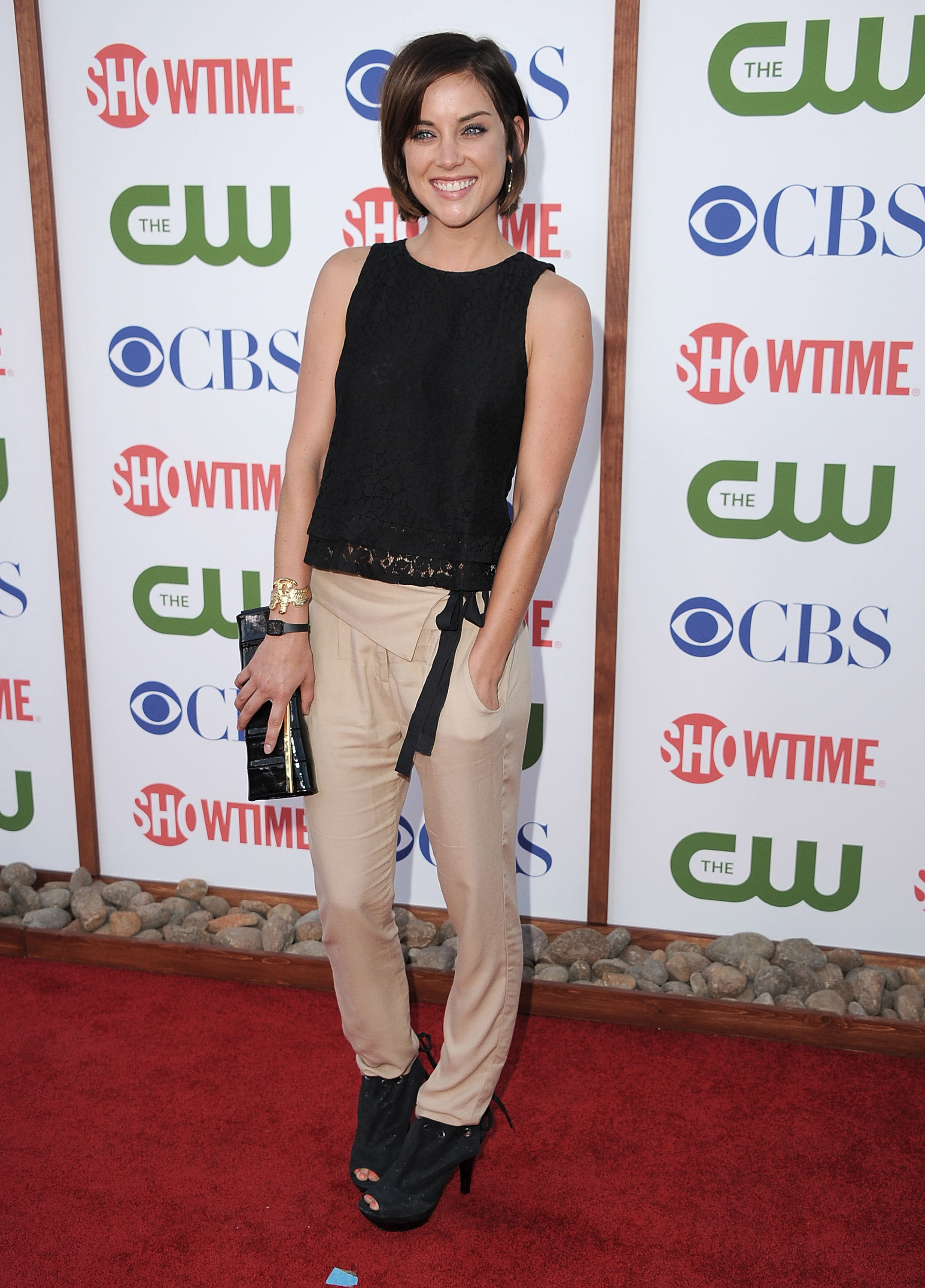 Jessica Stroup red carpet