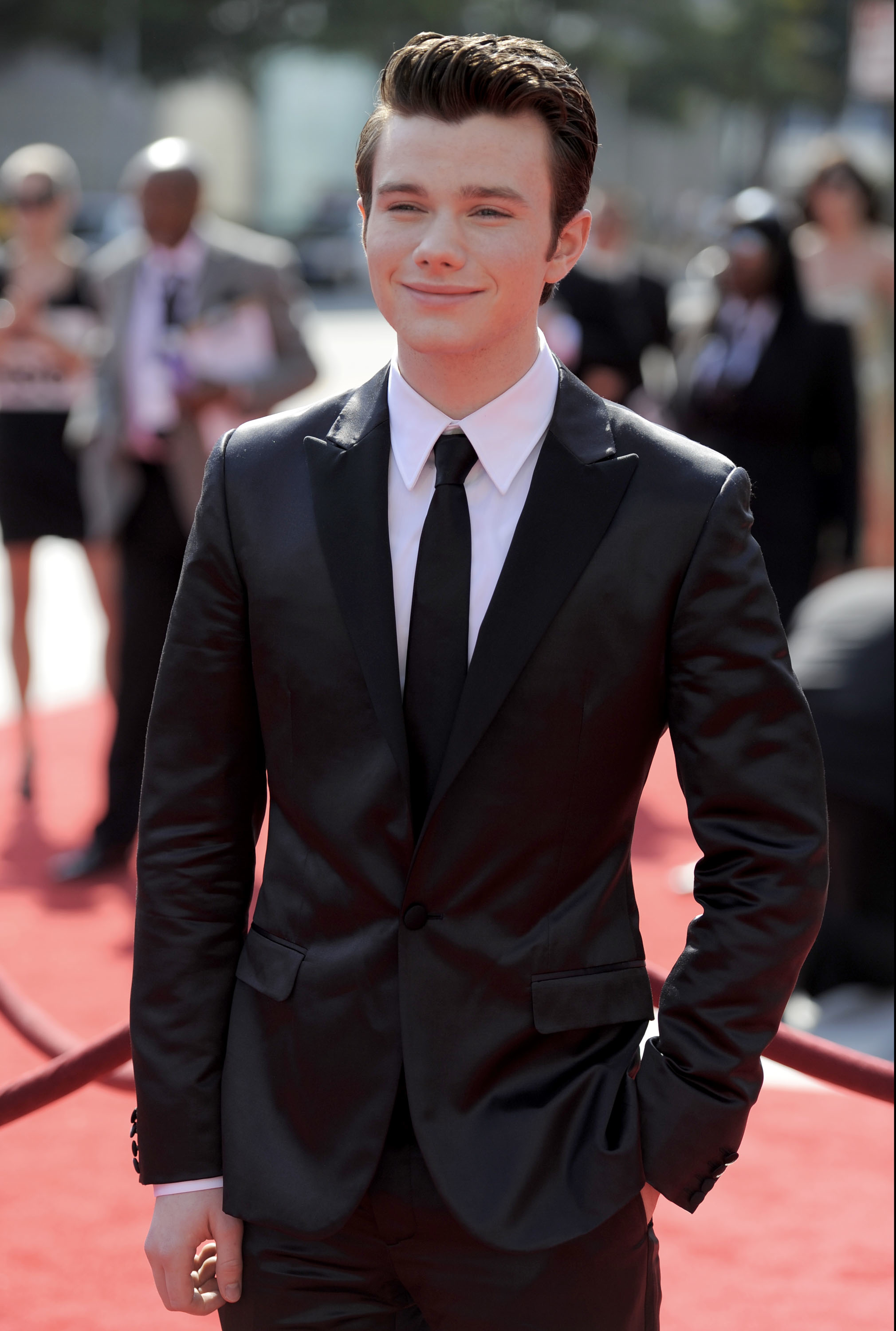 Chris Colfer red carpet