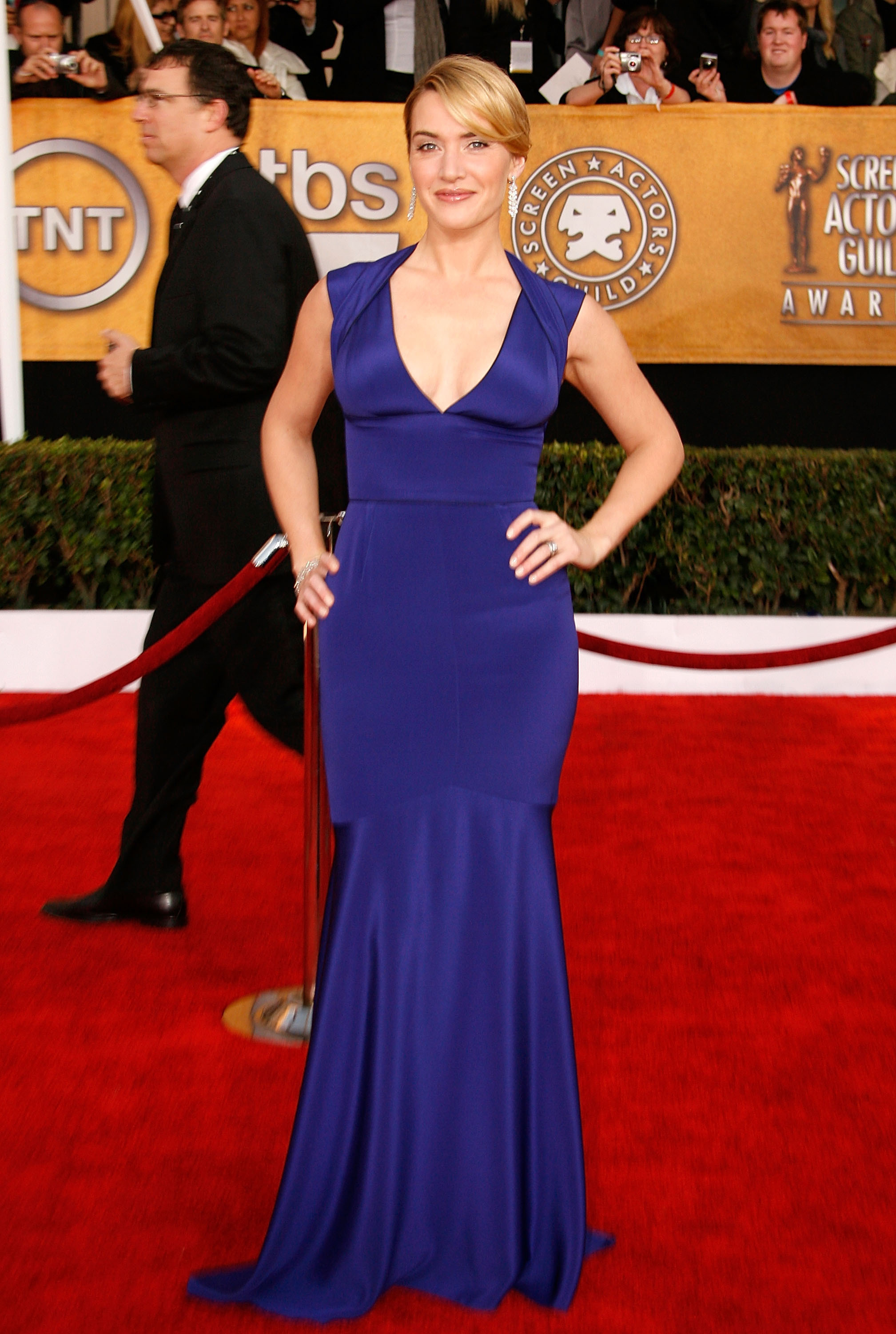 color dresses Gwyneth Paltrow Kate Winslet