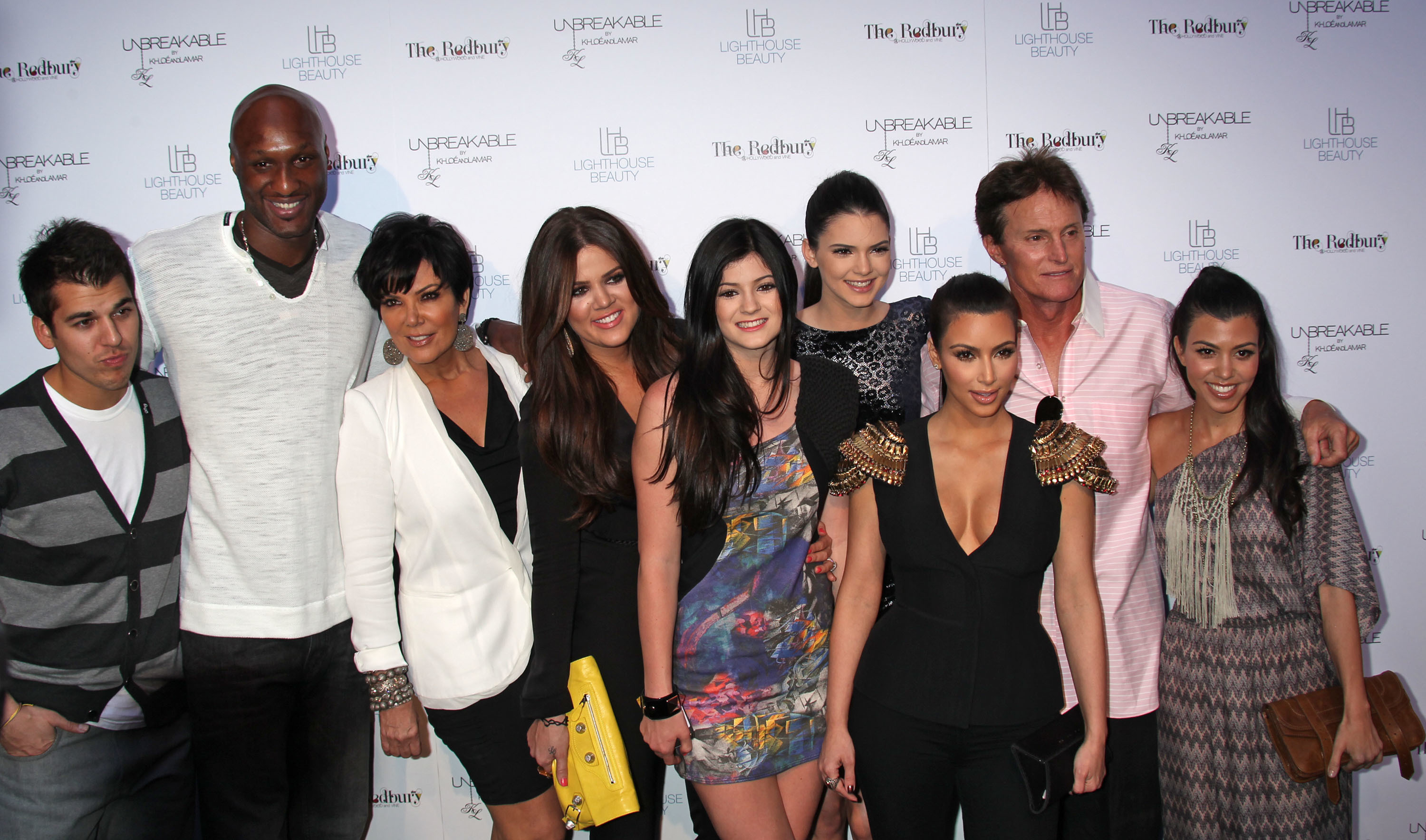 Bruce Jenner big family