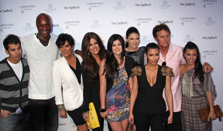 Bruce Jenner big family