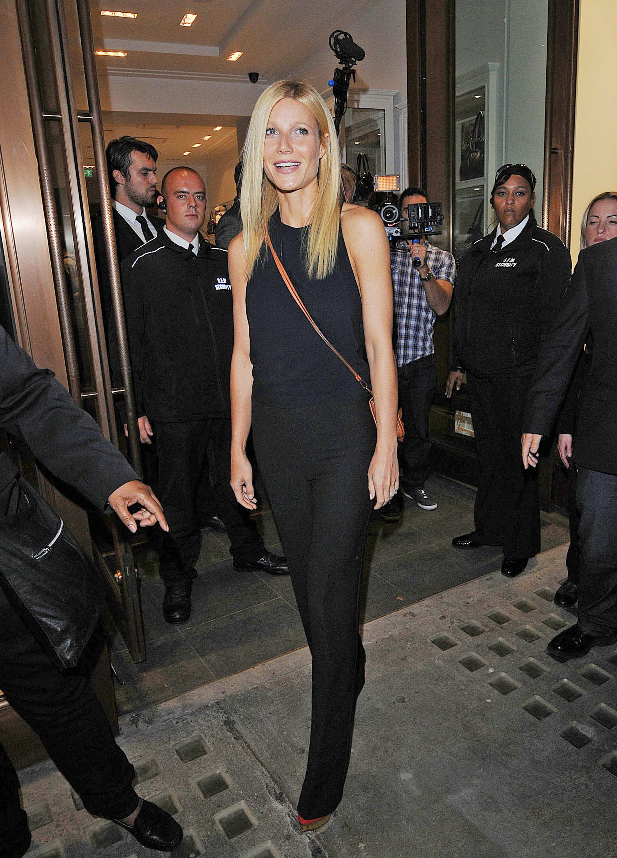 gwyneth paltrow london fashion week