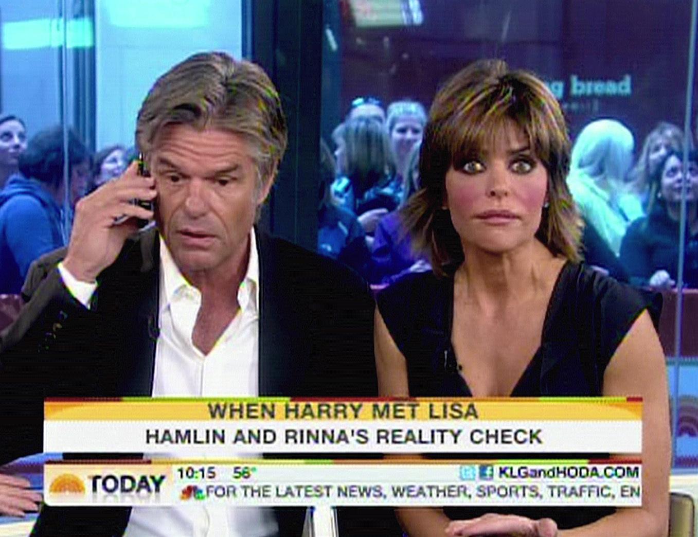 harry hamlin lisa rinna  today show