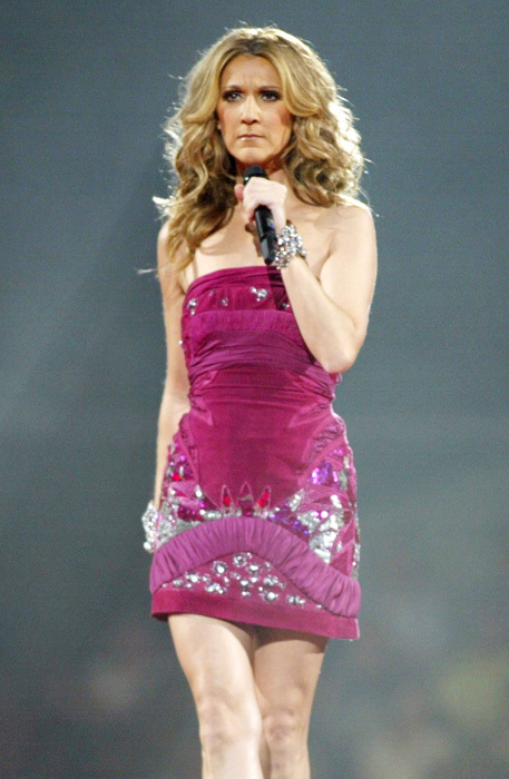 celine dion angry