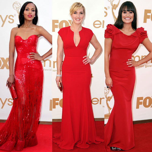 Red Dresses Emmys