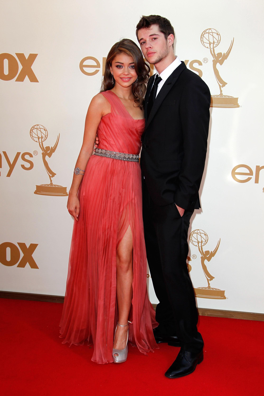 Sarah Hyland and Matt Prokop emmys
