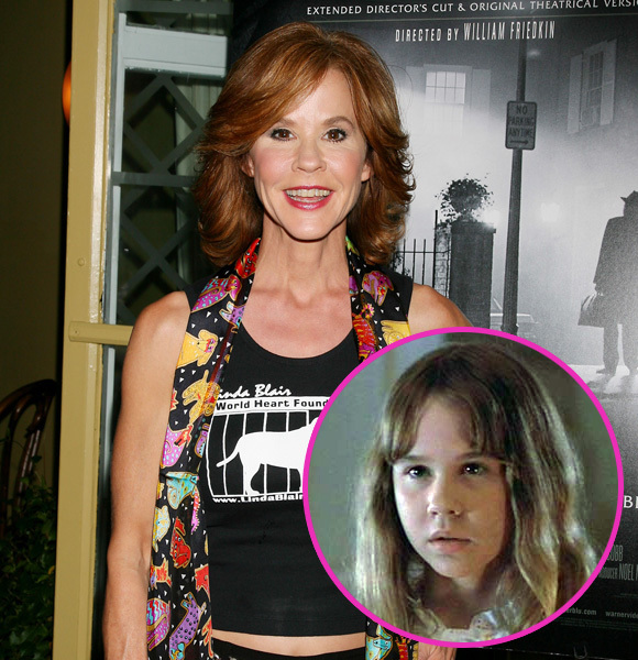 linda blair then and now
