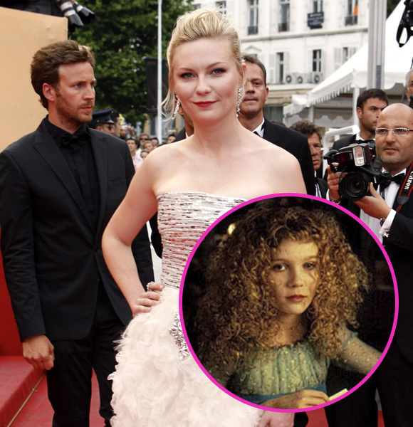 kristen dunst then and now