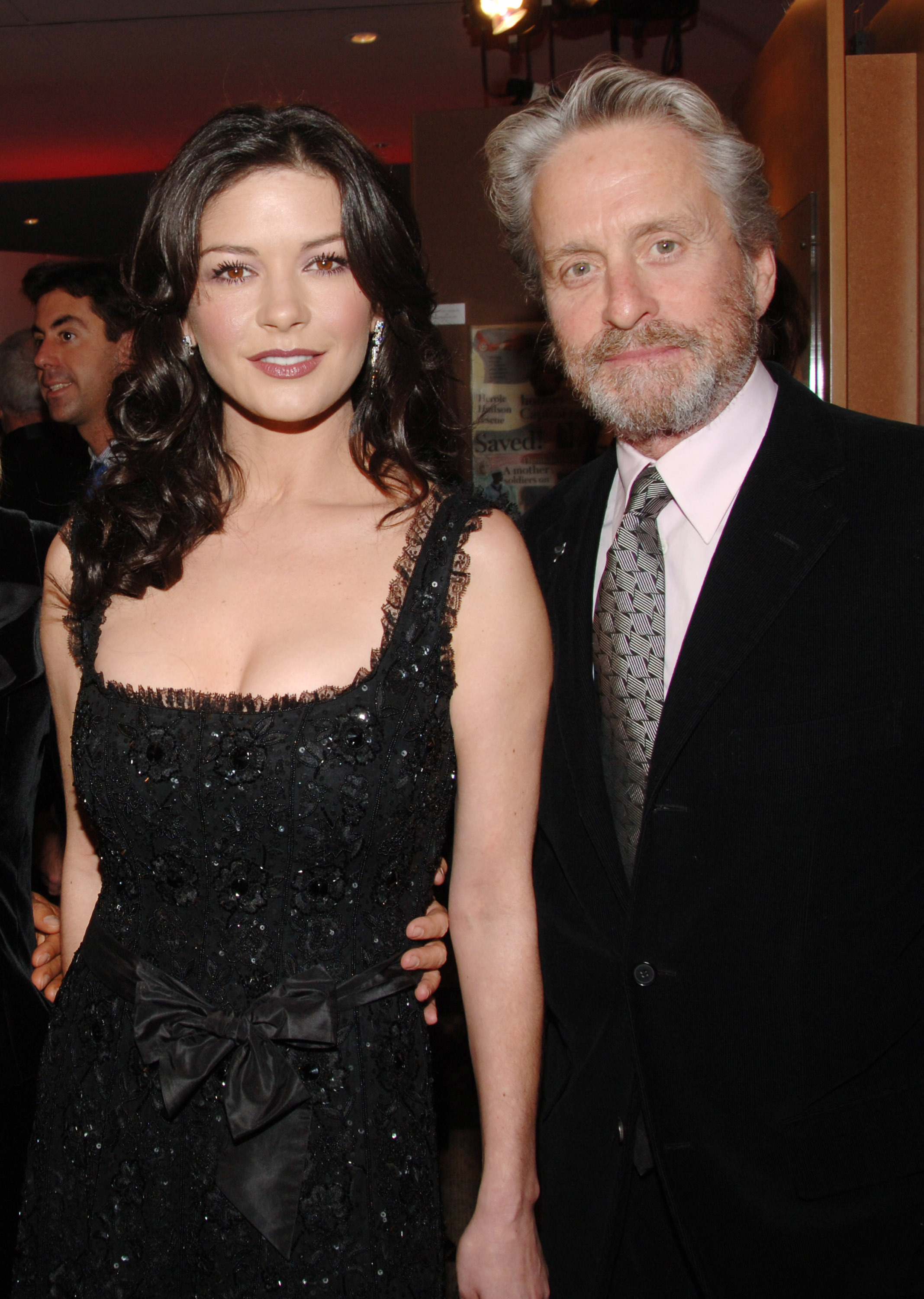 Catherine Zeta Jones and Michael Douglas red carpet