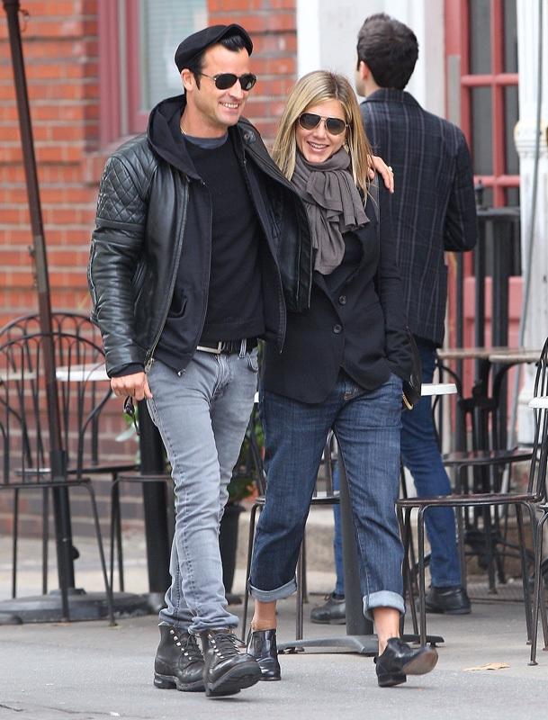 justin theroux jen aniston date