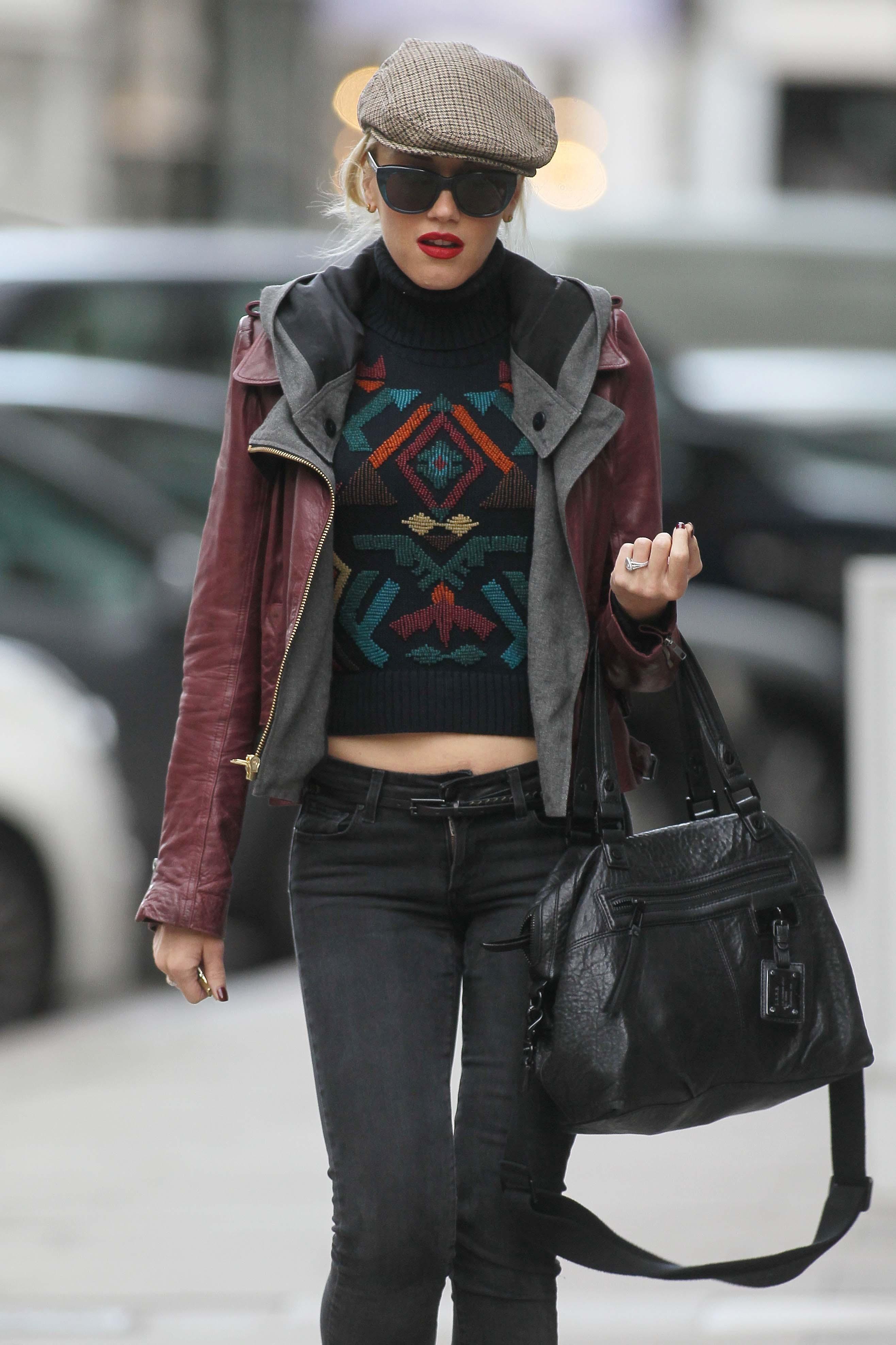 Gwen Stefani paparazzi