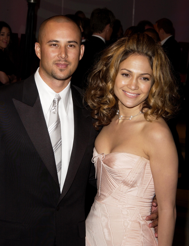 J Lo and Chris Judd