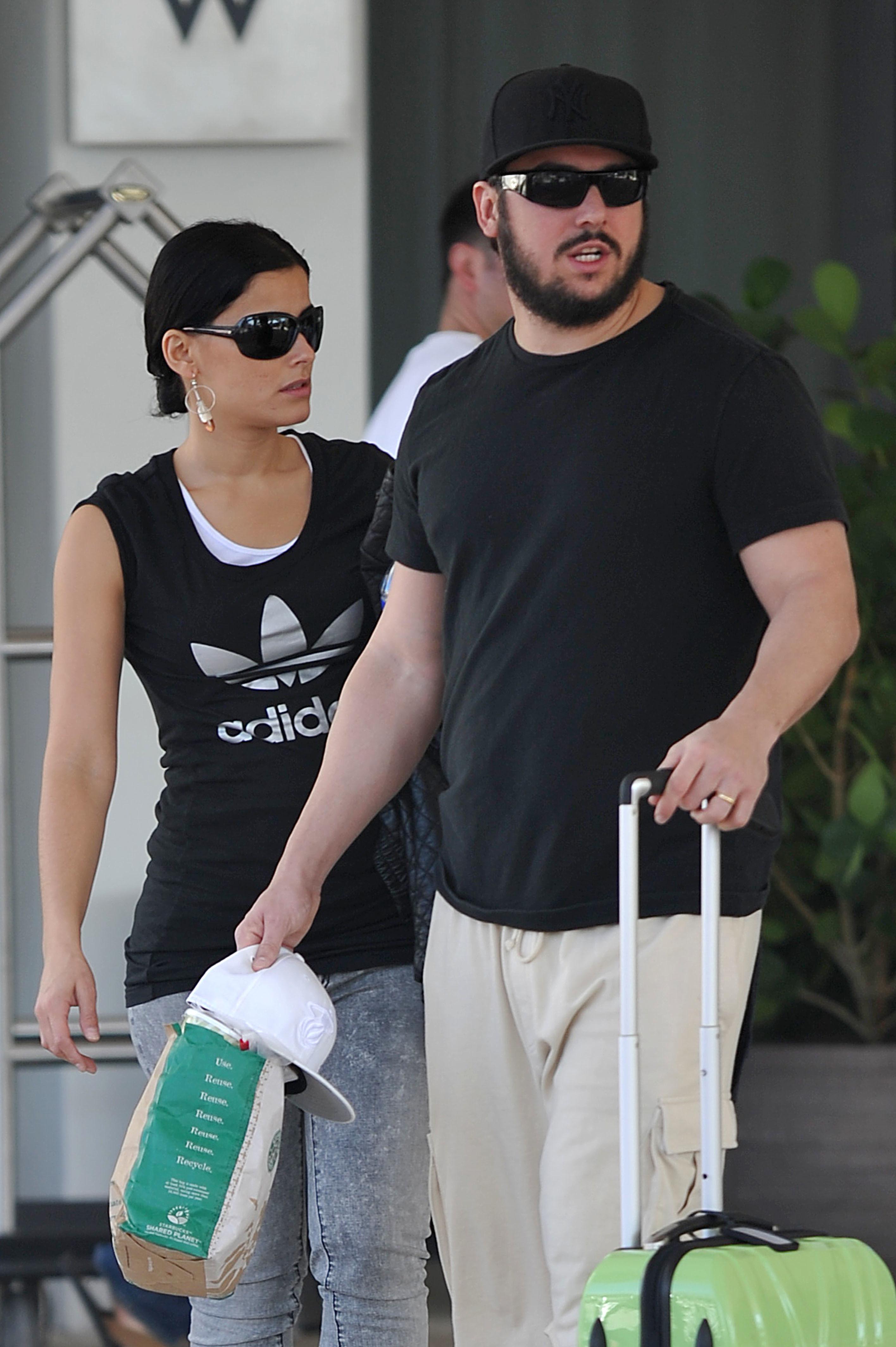 Nelly Furtado and husband