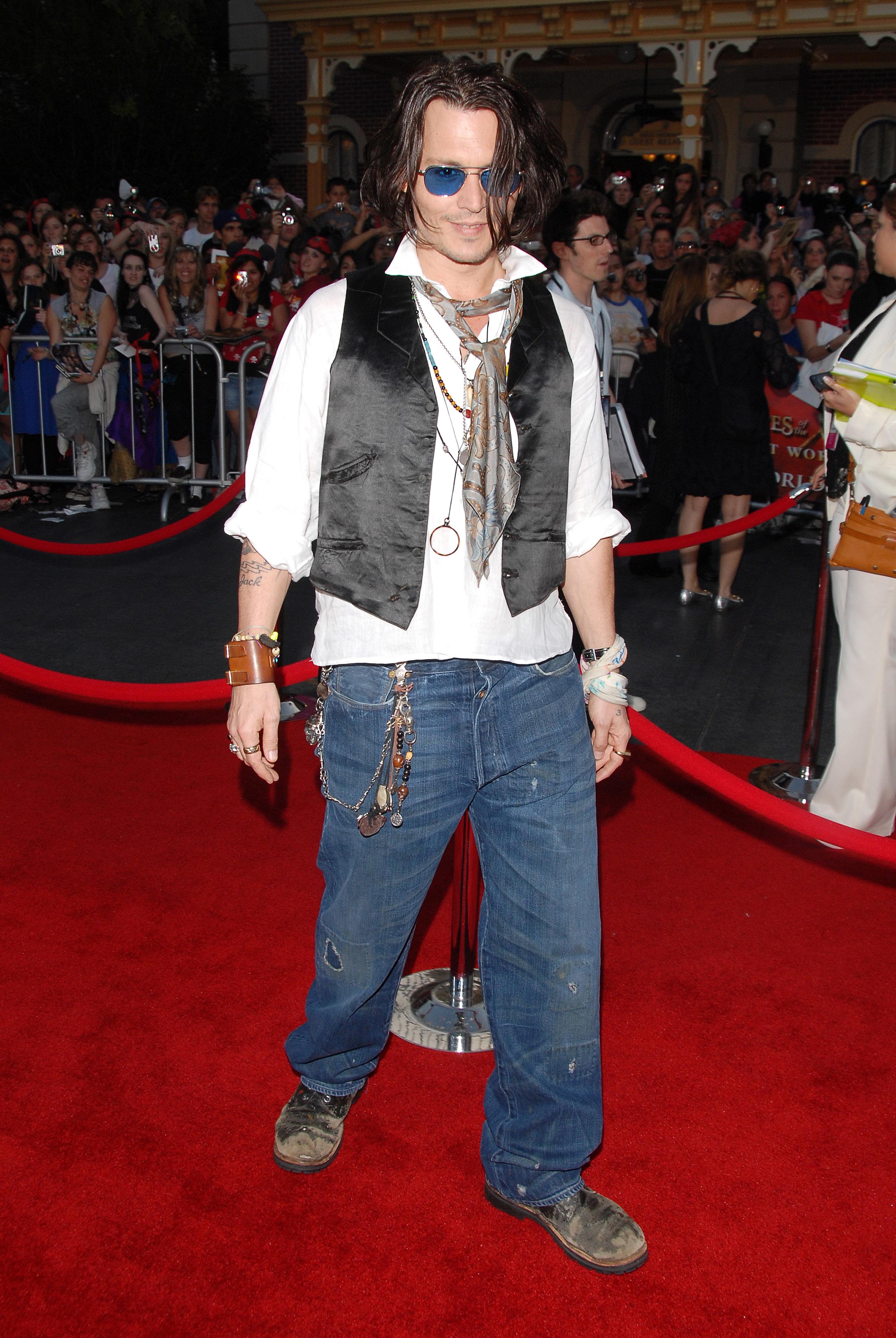Johnny Depp red carpet