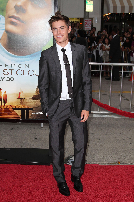 Zac Efron red carpet