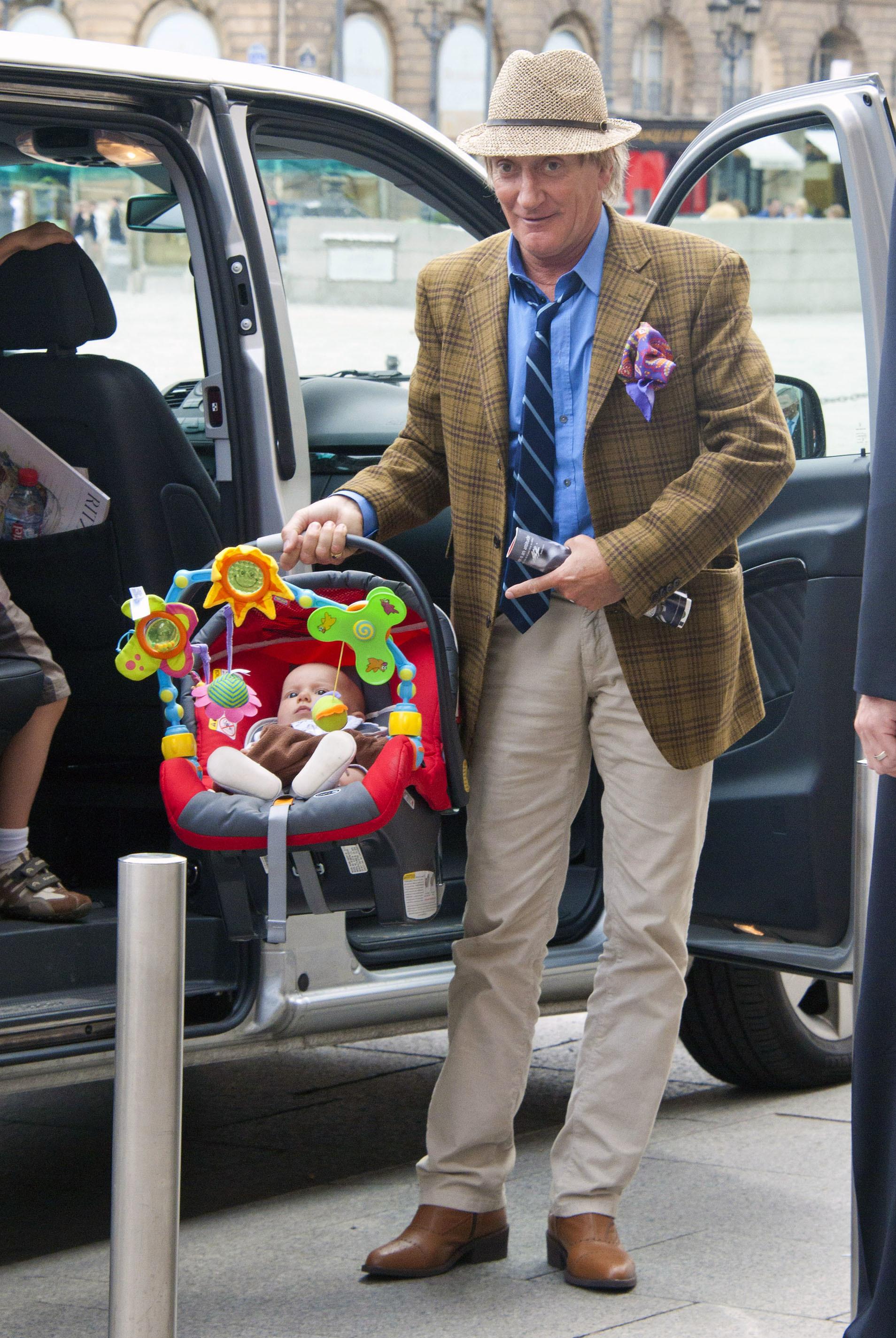 Rod Stewart baby