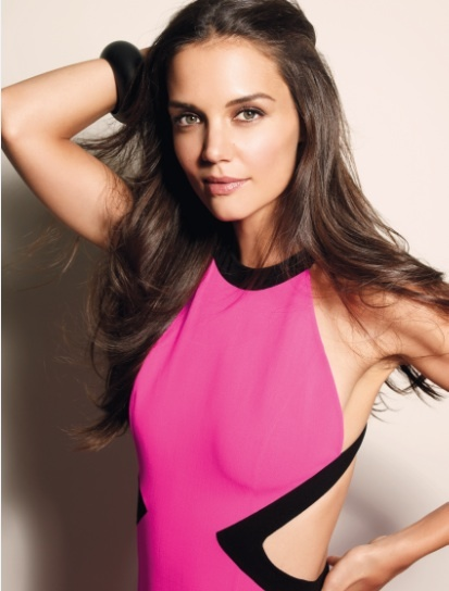 katie holmes marie claire