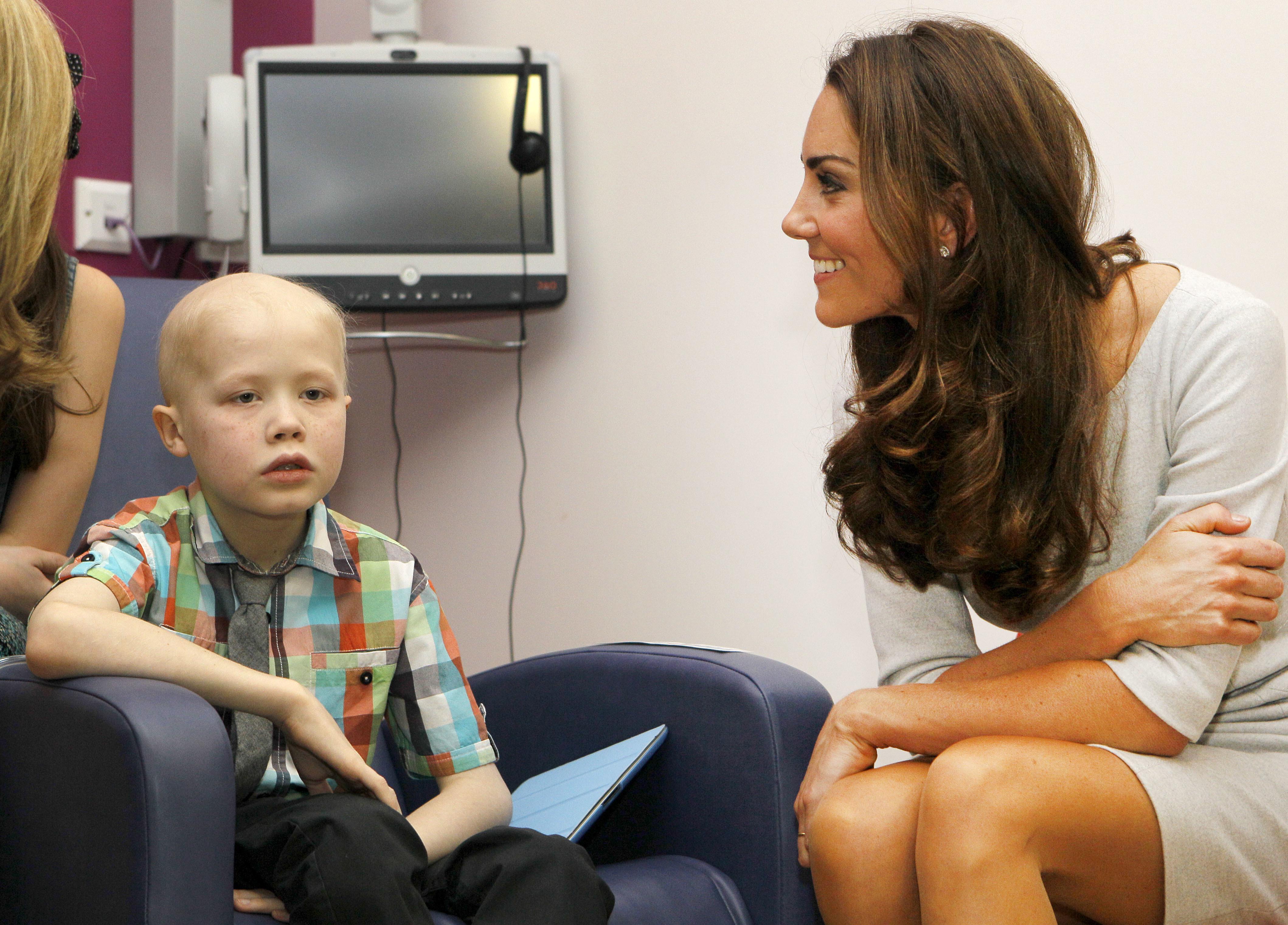 Duchess Kate children's hospital