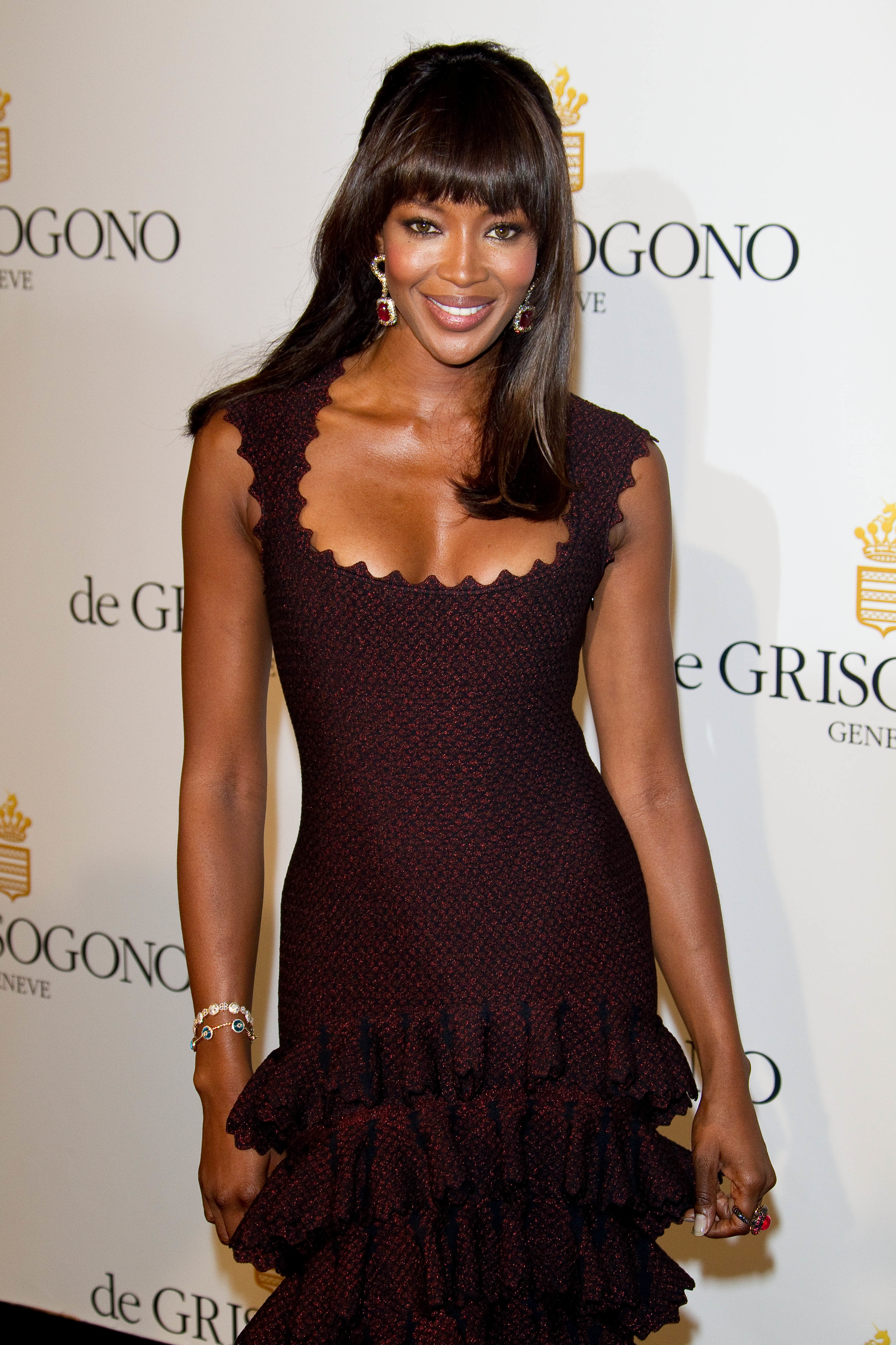 Naomi Campbell, one night in 1998