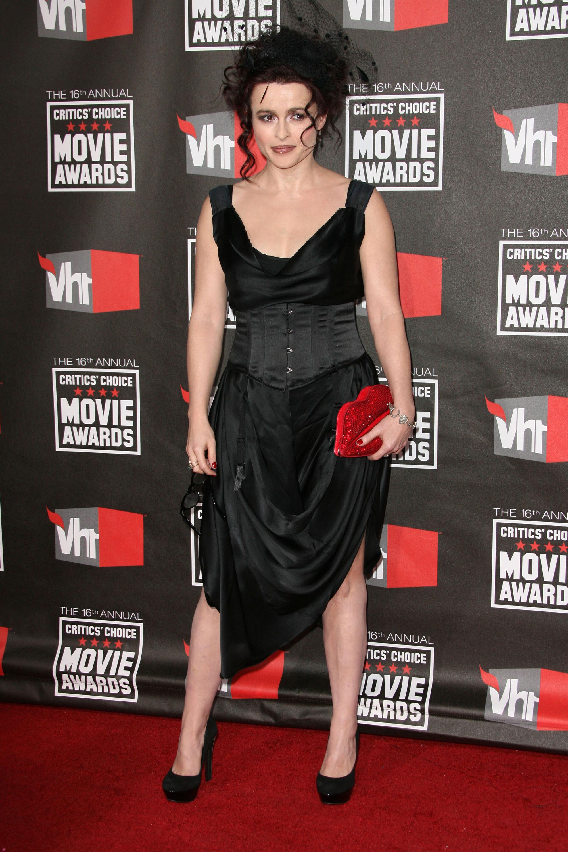 Helena Bonham Carter crazy fashion
