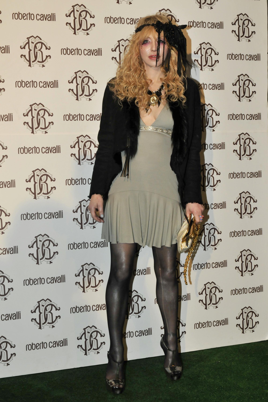 Courtney Love scary fashion