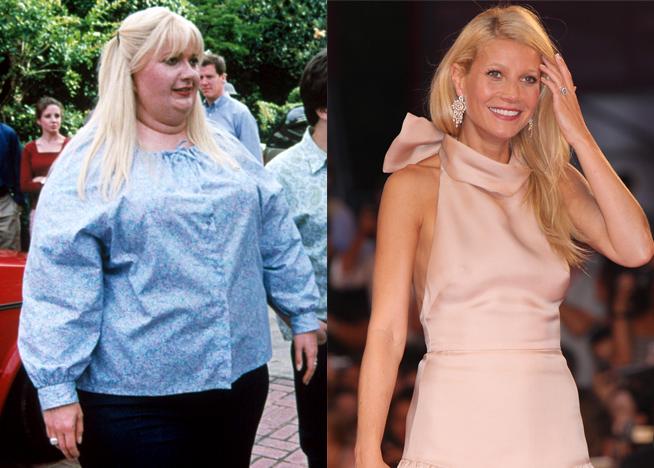 Gwyneth Paltrow fat suit