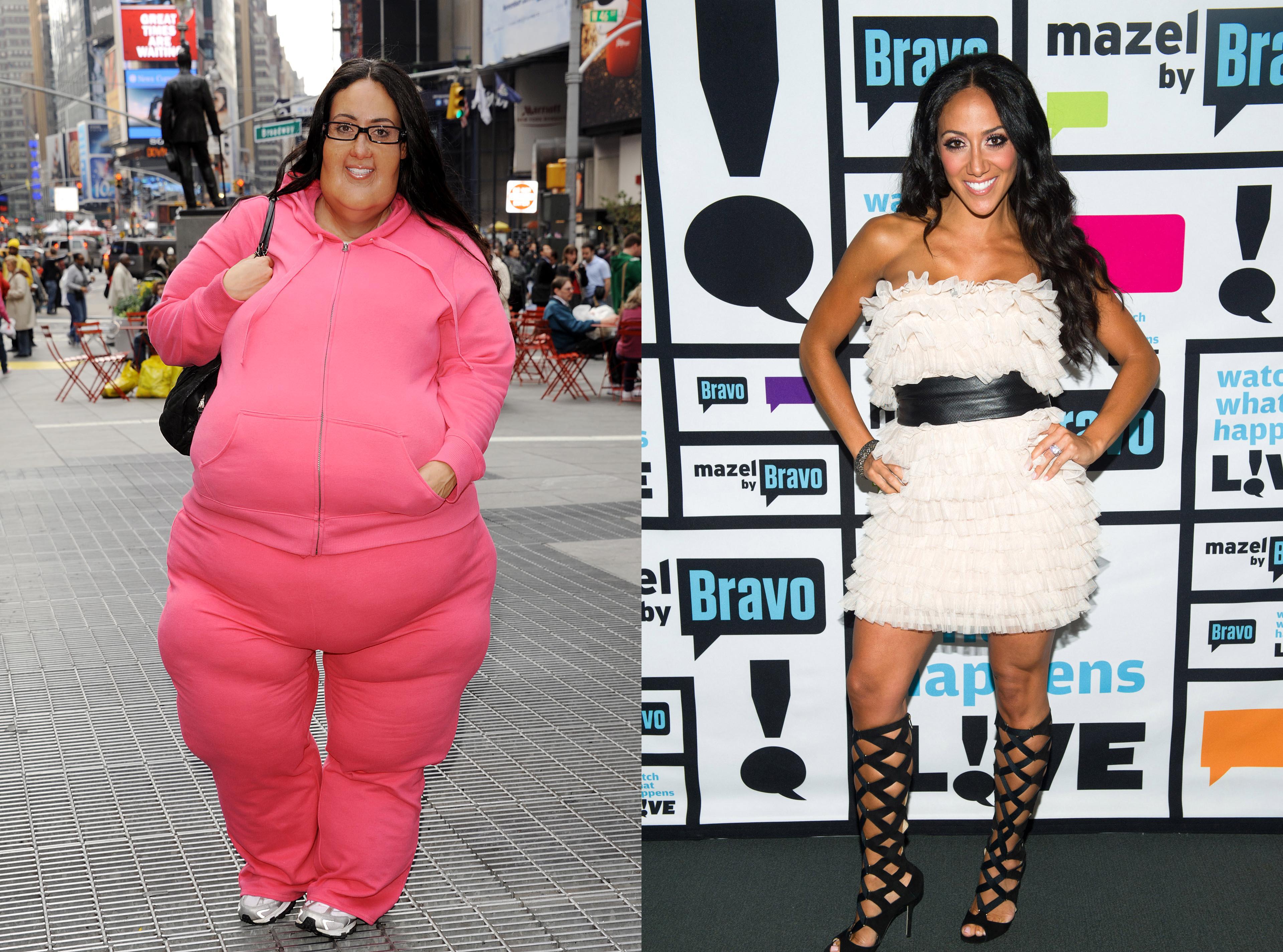 Melissa Gorga fat suit