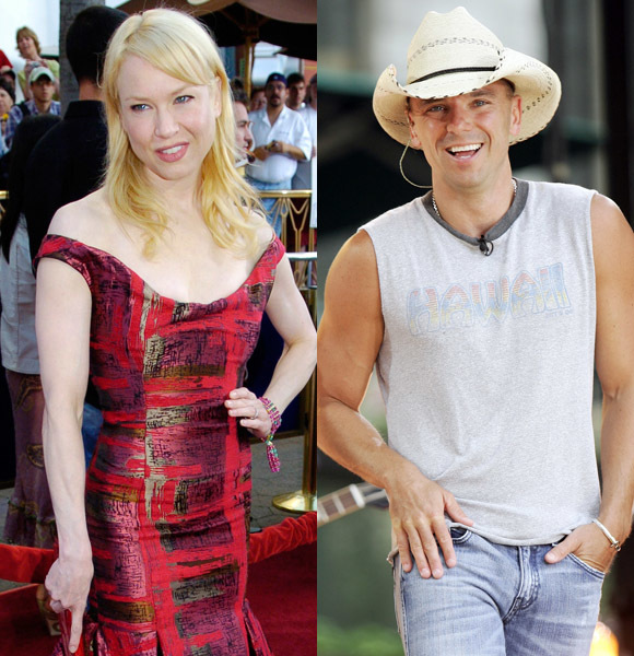 Renee Zellweger and Kenny Chesney: married for four months