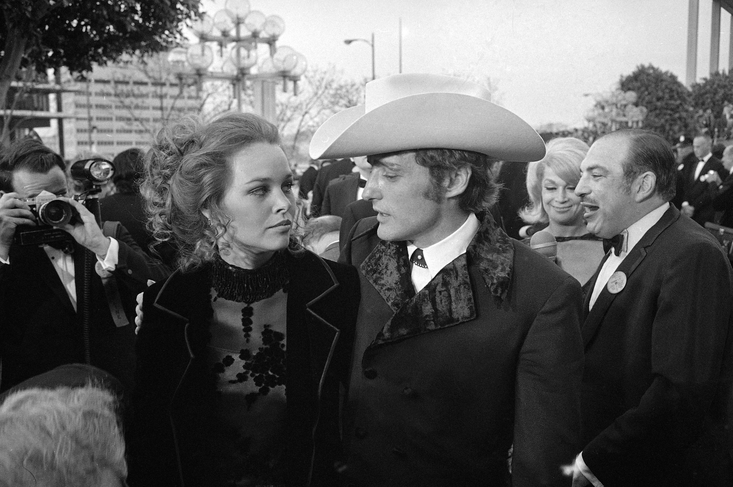 Dennis Hopper and Michelle Phillips: married for eight days