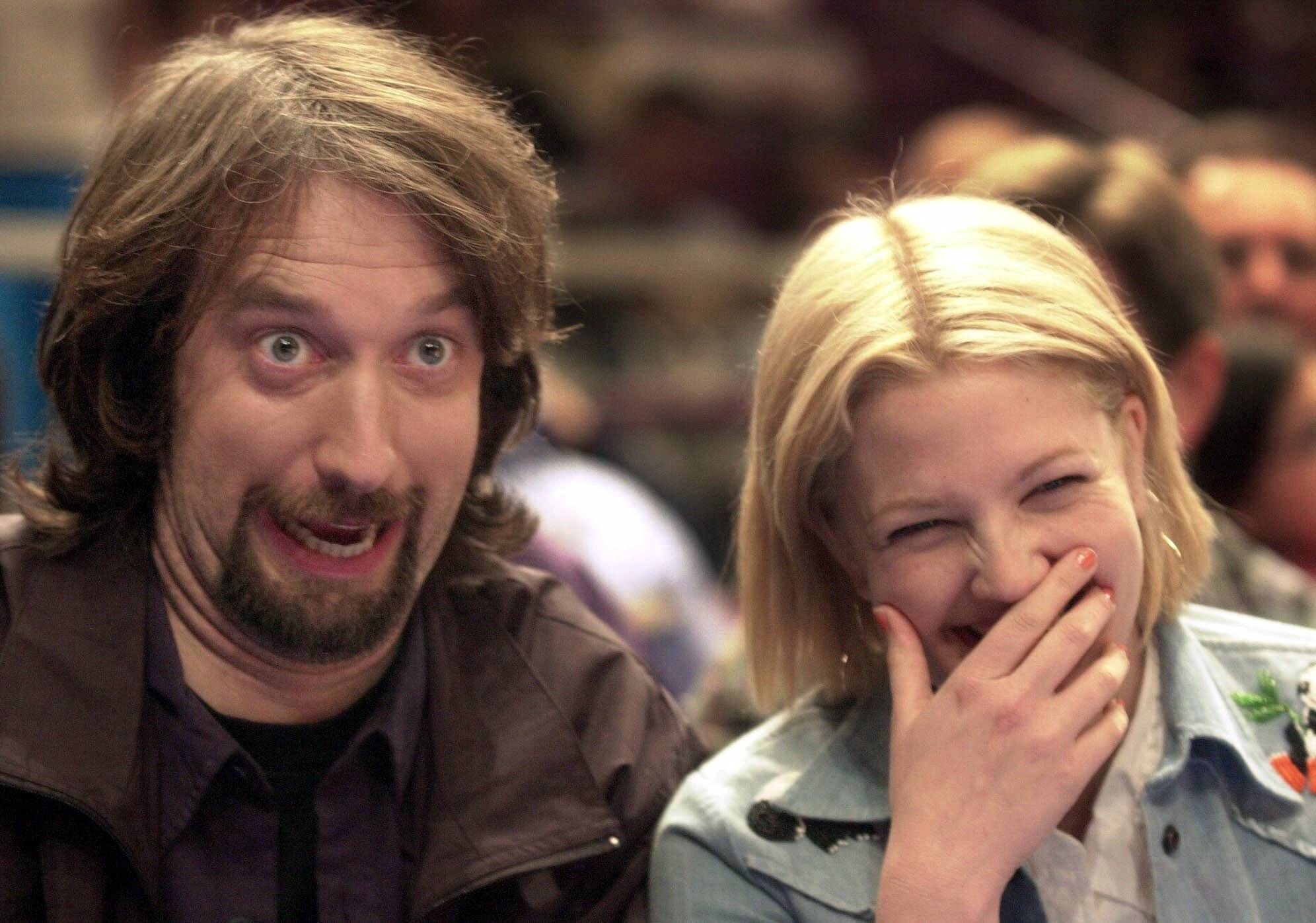 Drew Barrymore and Tom Green: married for five months