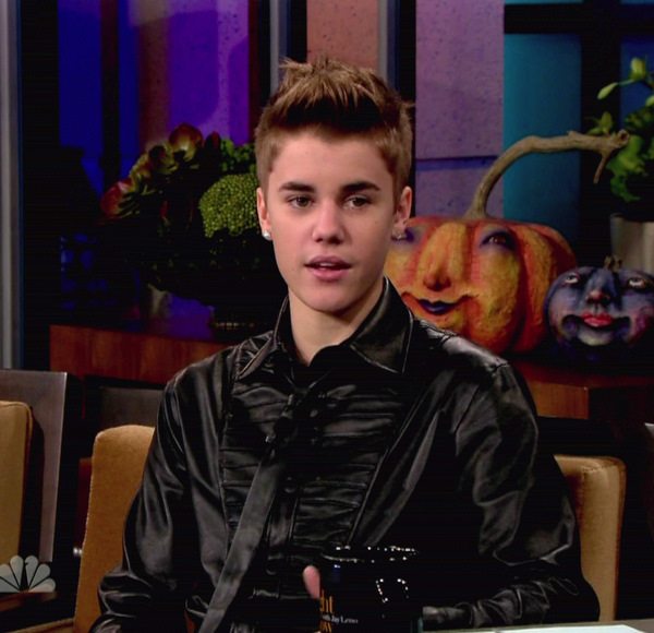 Justin bieber on the tonight show