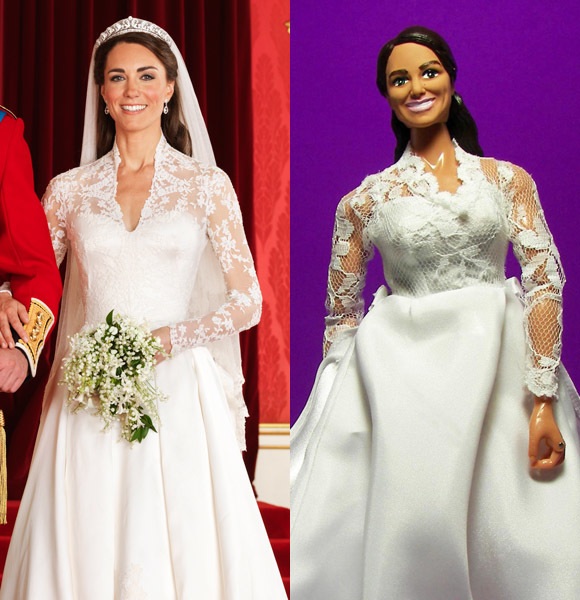 Duchess Kate wedding dress