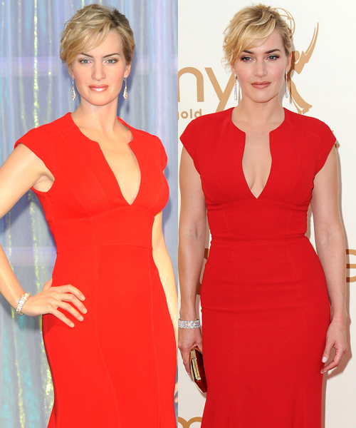 Kate Winslet wax figure