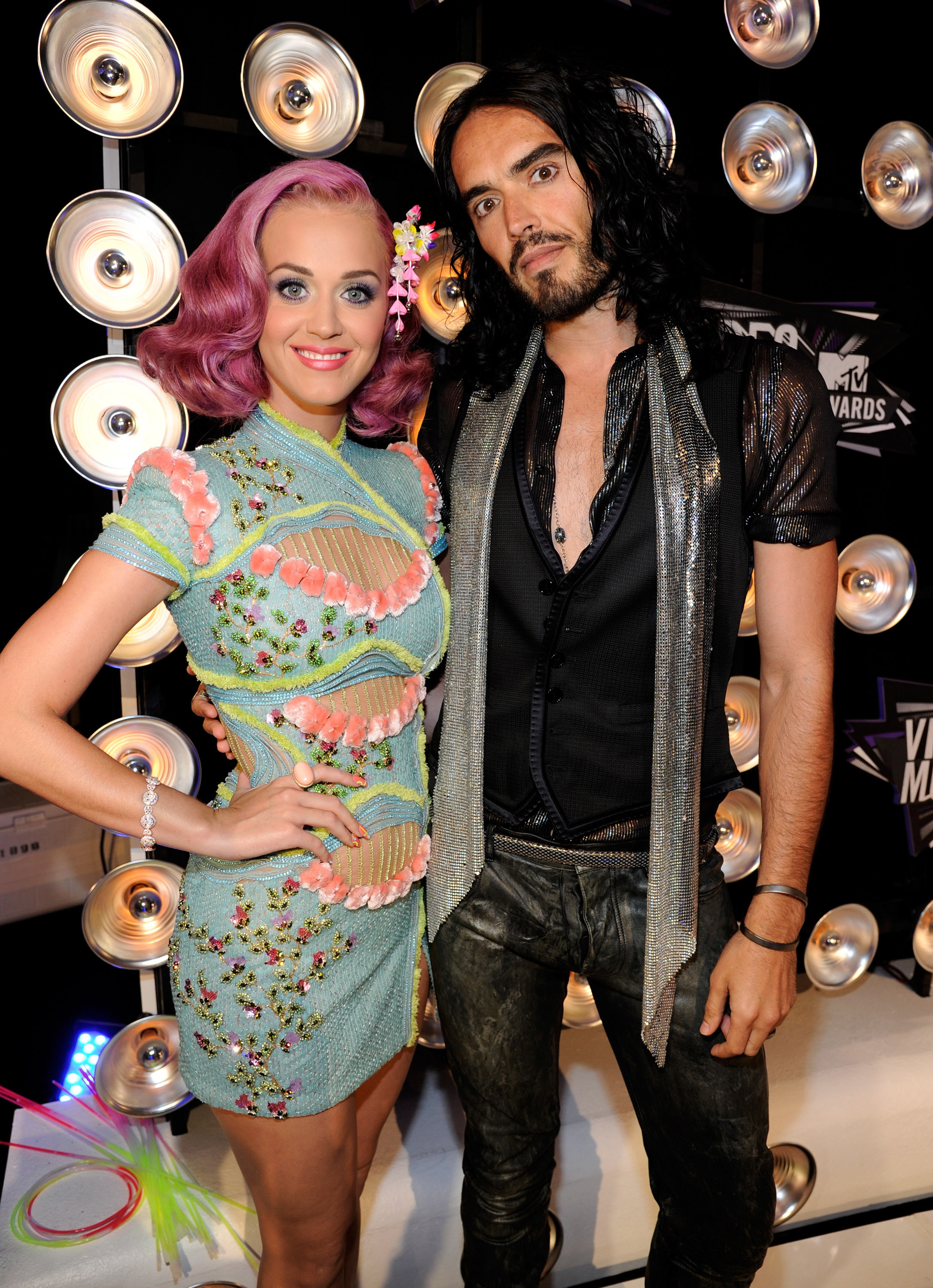 Katy Perry and Russell Brand: married for 14 months