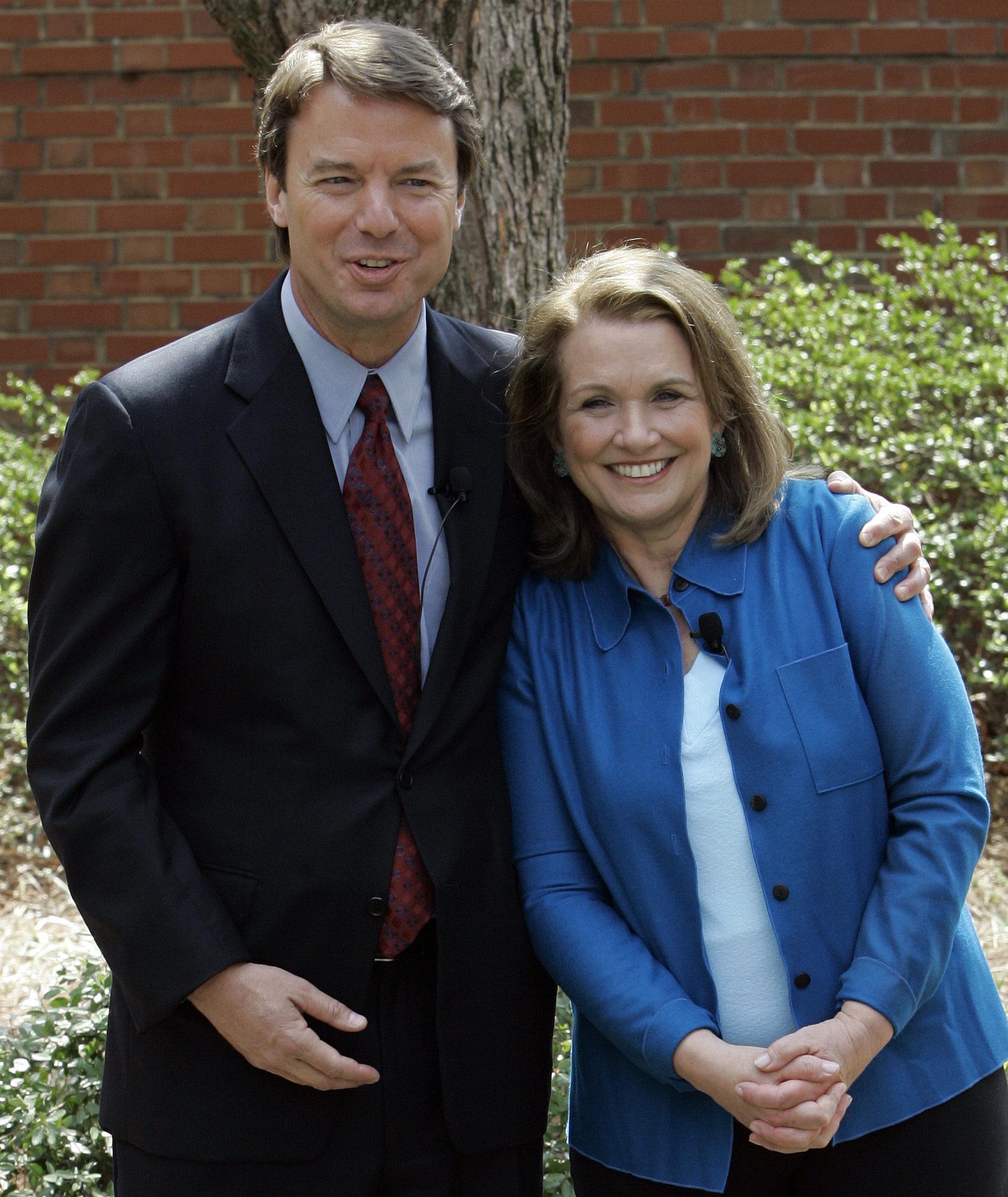 John Edwards and Elizabeth Edwards