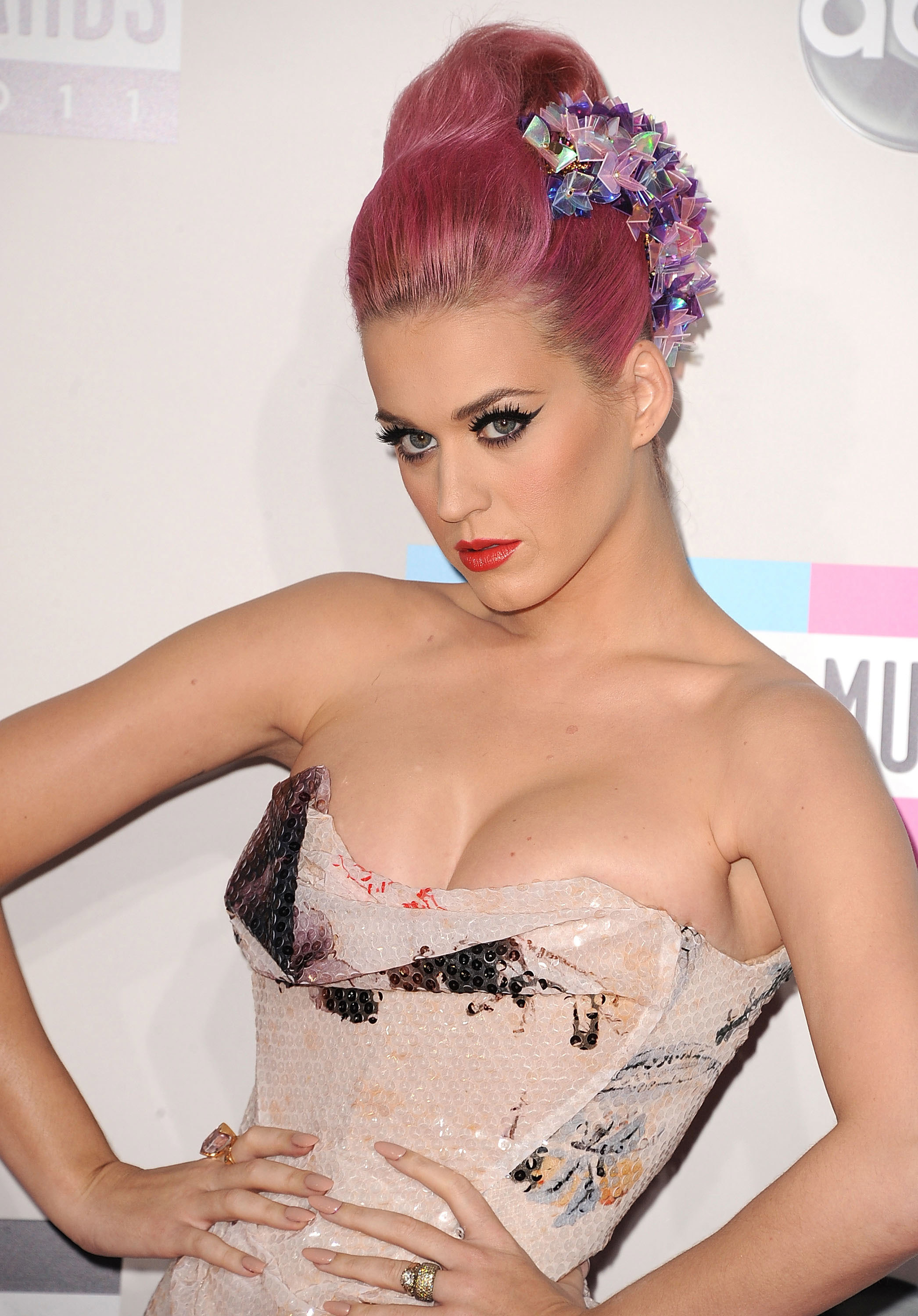 katy perry hair art