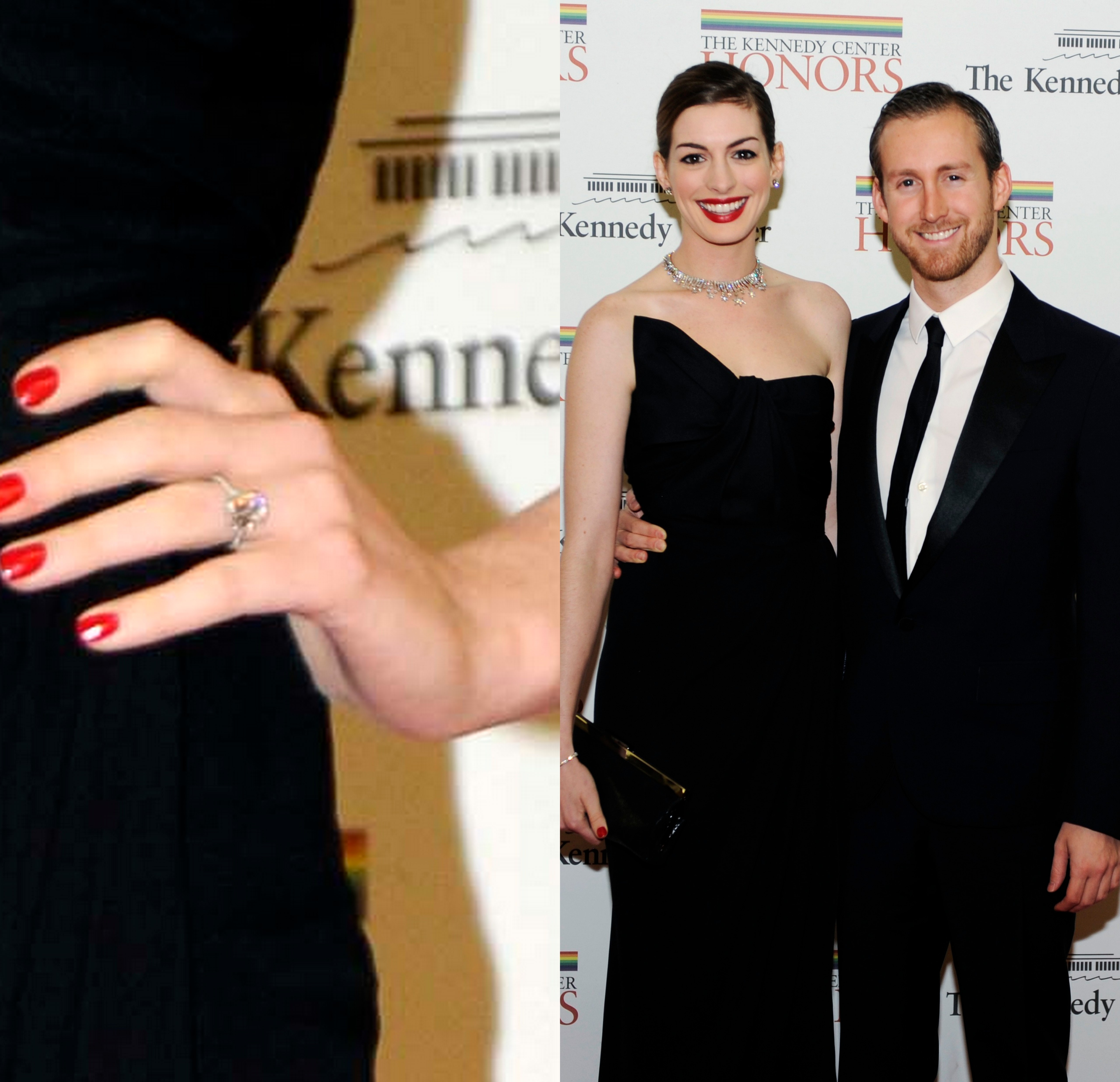 New Details On Anne Hathaway's $150,000 Engagement Ring