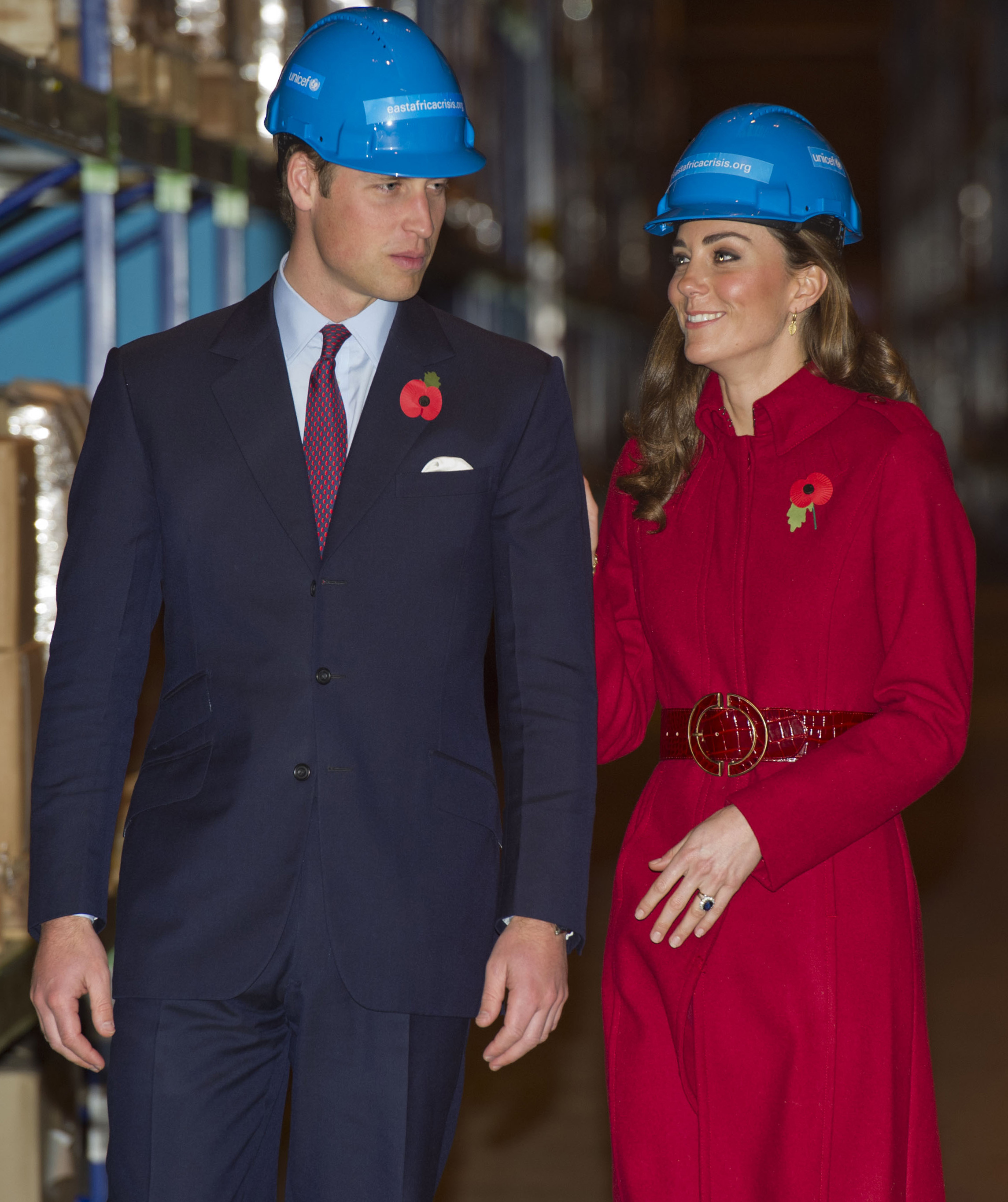 Duchess Kate prince william hard hats