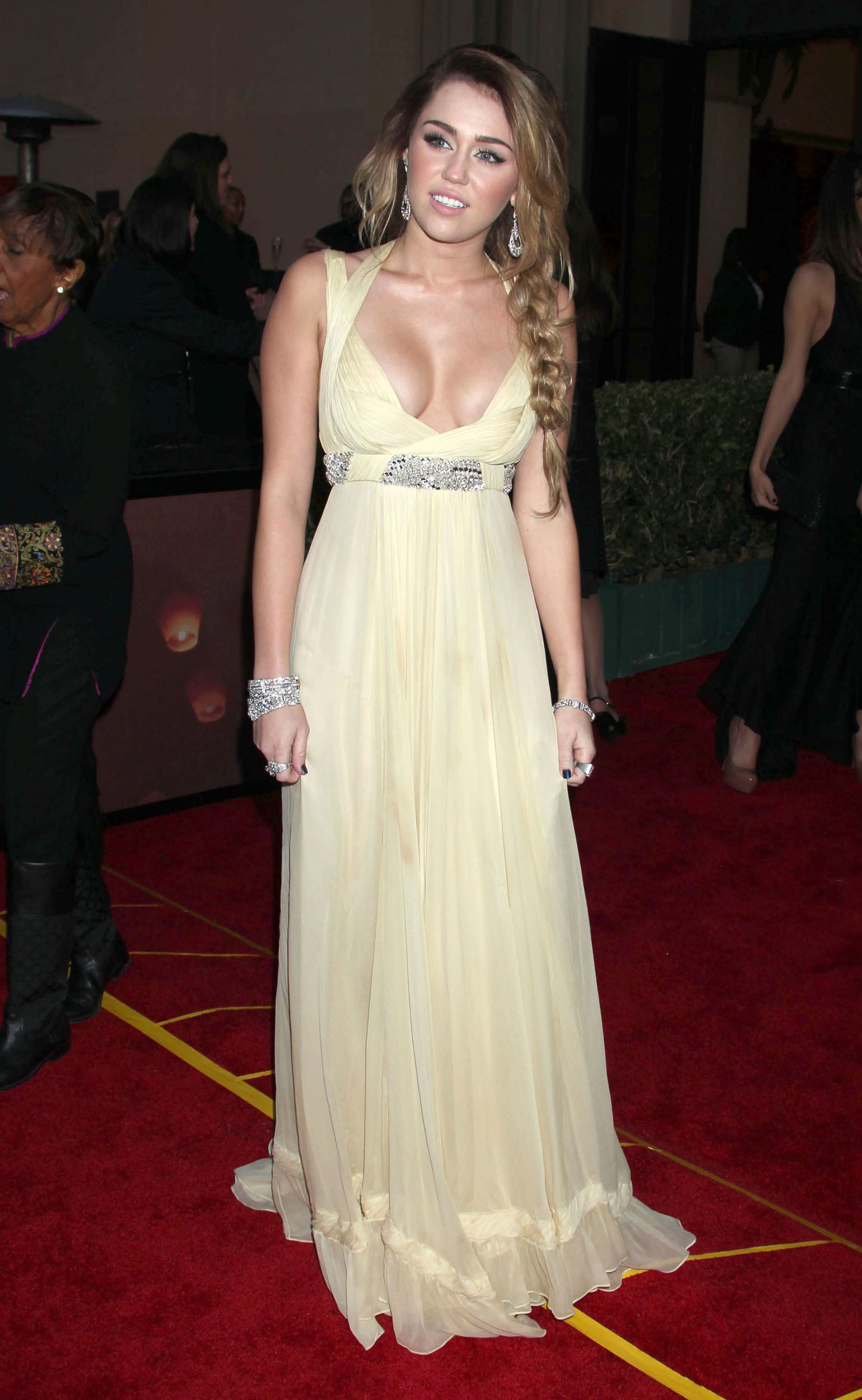 Miley Cyrus gown