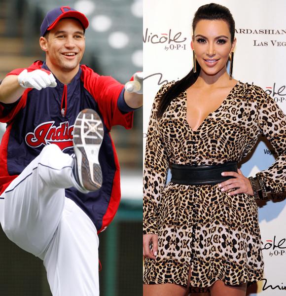 Grady Sizemore and Kim Kardashian